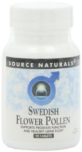 Source Naturals Swedish Flower Pollen, 90 Tablets (Pack Of 2)