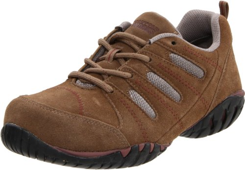 Rockport Work Women'S Rk617 Work Shoe,Addy Tan/Grey Suede,10 M Us