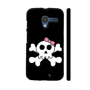 Colorpur Skull Horror Dead Halloween Designer Mobile Phone Case Back Cover For Motorola Moto X1 | Artist: WonderfulDreamPicture