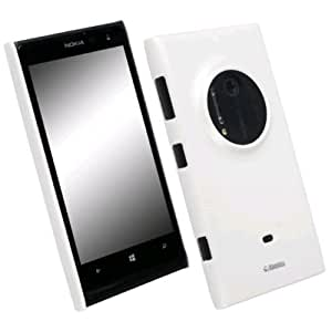 Krusell FROSTLUMIA1020WHIT Coque pour Nokia Lumia 1020 Transparent/Blanc