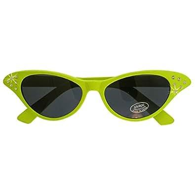 dda56e64f23a www.lesbauxdeprovence.com Neon Cat Eye Sunglasses with Rhinestones  Shoes