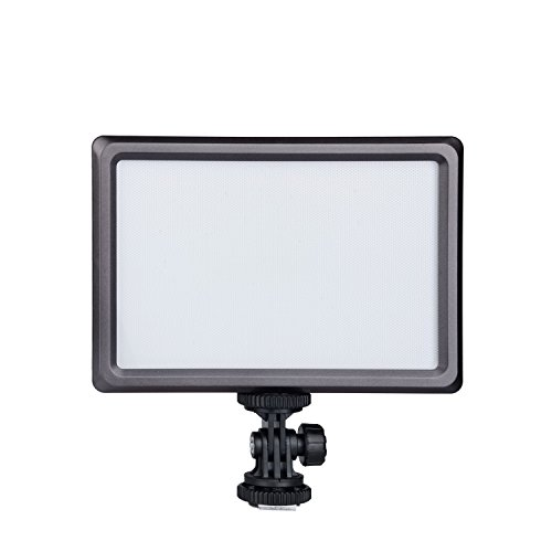 Cn-Luxpad22 Ultra Thin 112 Led 112Led 5600K /3200K Video On-Camera Light Pad For Canon Nikon Dslr Dv