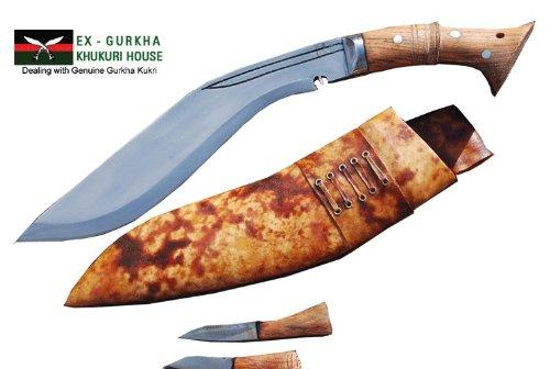 "Genuine Gurkha Full Tang Blade Khukri Knife - 12"" Blade World War I Historic Kukri - Handmade By Ex Gurkha Khukuri House In Nepal"