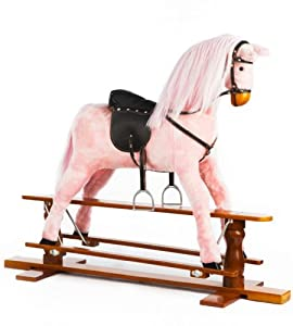 Large Pink Rocking Horse - Princess - by The 1 for U