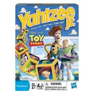 Yahtzee Jr. Toy Story edition!