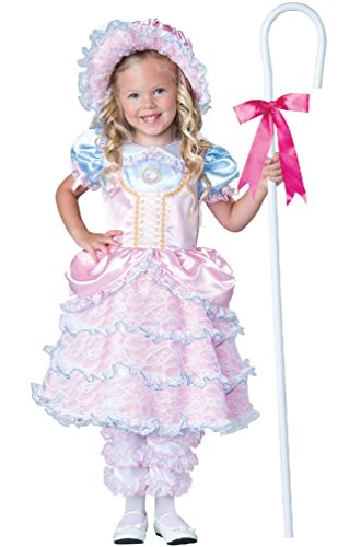 8eighteen Storybook Little Bo Peep Toddler Costume (Bo Peep Wig)