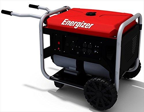 Energizer Ezg7250 7250-Watt Portable Heavy Duty Power Generator, Carb Approved