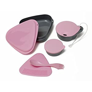 Light My Fire 6-Piece BPA-Free Outdoor Meal Kit with Plate, Bowl, Cup, Cutting Board, Container and Spork