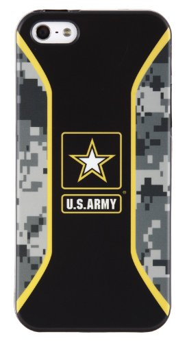 U.S. Army Soft Shell Case for iPhone 5/5s - Stryker - Retail Packaging - Black