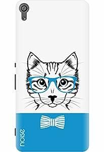 Noise Designer Printed Case / Cover for Sony Xperia XA Ultra Dual / Comics & Cartoons / Blue Cat Design