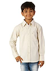 Oxolloxo Boys cotton beige shirt