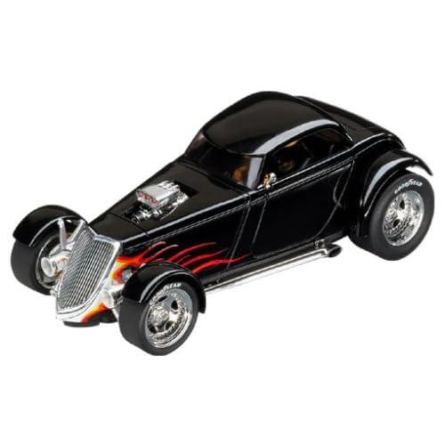 Carrera Digital 124 1/24 Supercharged 1934 Ford Hot Rod Slot Car Black Wit