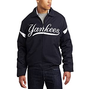 MLB Men's New York Yankees Thermabase Full Zip Premier Home Jacket