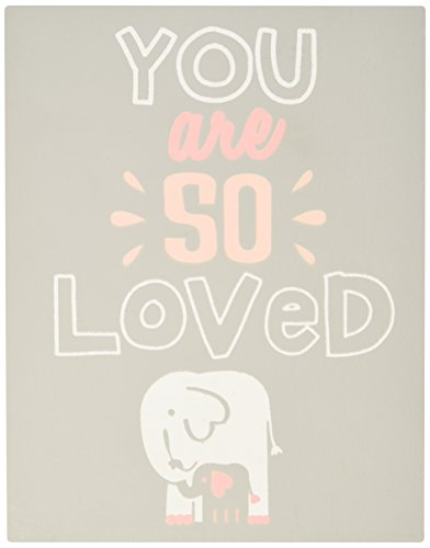 Mud Pie Plaque, You are so Loved, Grey