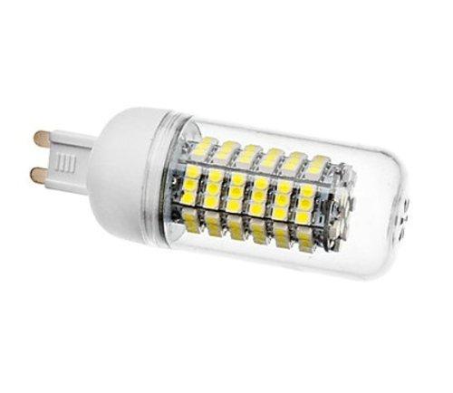 How Nice 5W 110V Candle Lamp G9 120Smd3528 350-400Lm White Light Led Corn Bulb