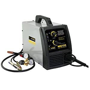 Pro-Series PS07570 115-Volt MIG Welder, Black and Gray by Pro Series