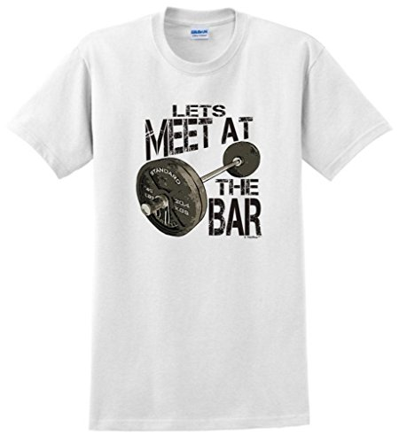 Let'S Meet At The Bar T-Shirt 2Xl White