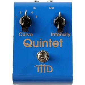 THD Electronics Quintet Pedal Quintet Tone Curve Pedal