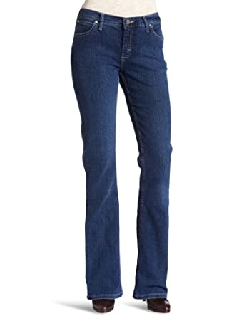 "Wrangler Women's Jeans As Real Rippling Classic Fit 30"" Denim"