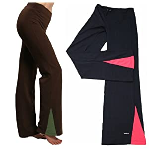 Fast-dry Poly-Spandex Active Gym Exercise Workout Yoga Fitness Pants