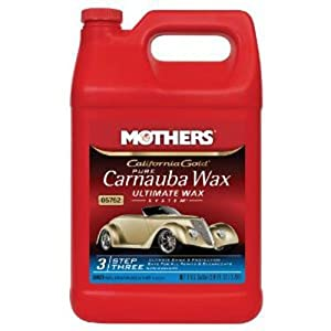 Mothers 05750 California Gold Pure Brazilian Carnauba Wax Liquid - 16 oz (Ultimate Wax System, Step 3) from MOTHERS