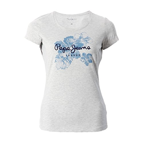Pepe Jeans -  T-shirt - Donna grigio Medium