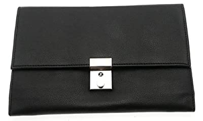 Soft Black Travel Document Case (Passport, Tickets, Travellers Cheques, Insurance, Money Holder etc)