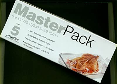 MasterPack 14-Inch By 20-Inch Nylon Oven Bag