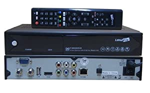 2013 Newest Lexuzbox F90 Az America F90 Dvb-c Tuner Rj-45 Port 1080p Hd Cable Receiver(with Dobly Function)
