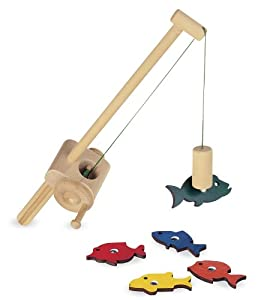 Wooden Fishing Set from Pure Play Kids® from PURE PLAY TOYS