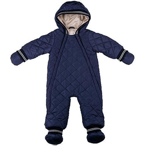 oceankids-blu-navy-tuta-monopezzo-imbottita-con-cappuccio-da-bambino-9-12-mesi