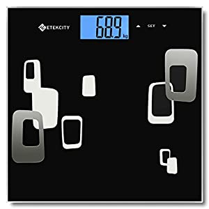 Etekcity Digital Body Fat Analyzer Bathroom Scale, 28st/180kg/400lb, Measures Weight, Body Fat, Hydration, Bone, Muscle and More