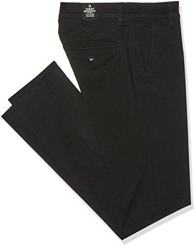 cheap-monday-slack-chino-pantaloni-uomo-colore-nero-black-taglia-w30-l32
