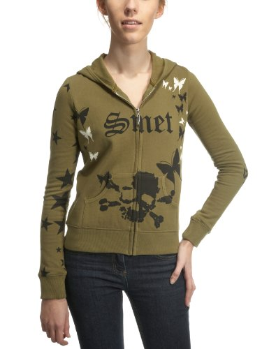 SMET By Audigier Queens Womens Jumper Green/Black Medium
