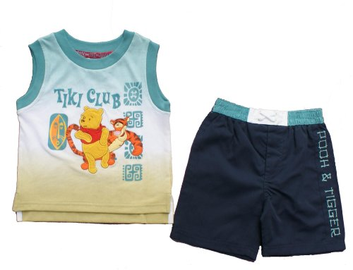 Tigger Vest Top and Short set Age 4 Years