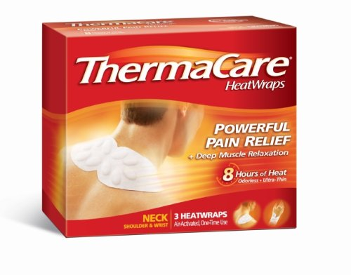 Find Cheap ThermaCare Air-Activated Heatwraps, Neck, Wrist & Shoulder, 3 HeatWraps (Pack of 3)
