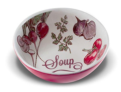 Oxford Porcelain- Soup Bowl (4Pcs Set)