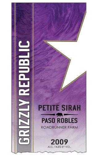 2009 Grizzly Republic Paso Robles Petite Sirah 750 Ml