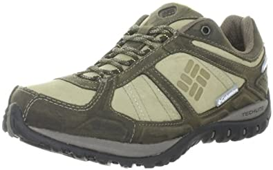 Columbia YAMA LOW LEATHER OUTDRY BL3815, Damen Trekking- & Wanderschuhe, Weiß (Silver Sage, Cane 103), EU 36 (US 5)