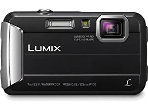 Panasonic Lumix DMC-TS25 16.1 MP Tough Digital Camera with 8x Intelligent Zoom (Black)