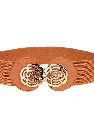 YY-la-mode-fminine-lastique-rose-large-ceinture