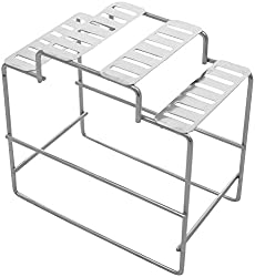 Sakshi Enterprises Stainless Steel Cutlery Stand (16.5 cm, Silver)