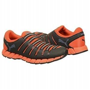 PUMA Men's OSU 3 Running Shoe,Black/Cherry Tomato,14 D US