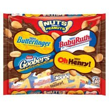 Amazon.com : Nestle Nuts About Peanuts! Candy Bar