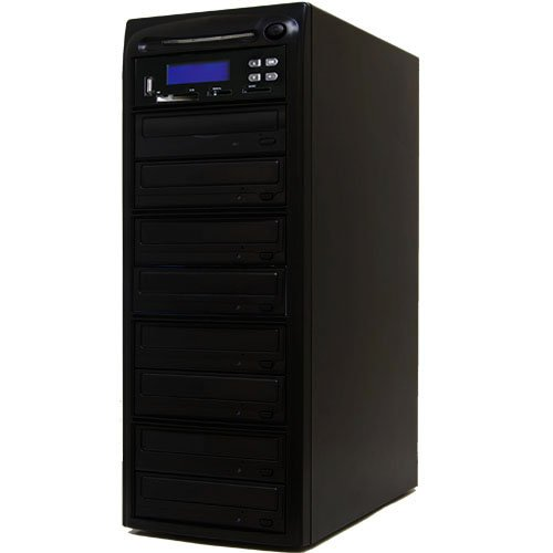 Systor 1-7 M-Disc CD DVD duplicatori e USB / SD / CF M-Disc CD DVD Copier Backup Torre