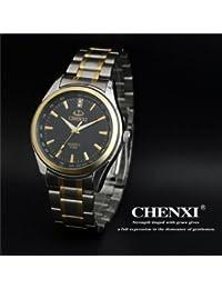 Handcuffs Chenxi Fashion Military Men Sports Wrist Watch Full Steel Luxury Watch