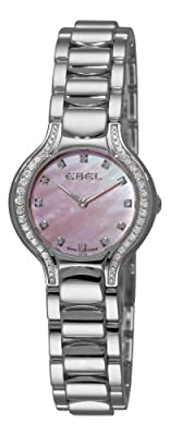 Ebel Women's 9003N18/971050 Beluga Mother-Of-Pearl Pink Diamond Dial Watch