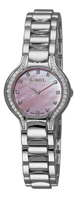 Ebel Women's 9003N18/971050 Beluga Mother-Of-Pearl Pink Diamond Dial Watch by Ebedee