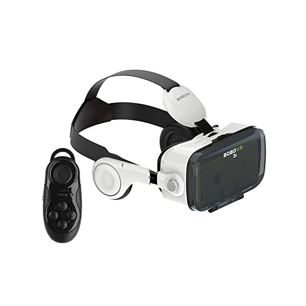 VIGICA-3D-VR-Lunettes-Casque-de-Ralit-Virtuelle-vido-Virtual-Reality-Headset-for-4762-pouces-Smartphones-for-3D-MoviesGamesInclude-Bluetooth-Remote-Controller-and-Dark-Sex-Dice