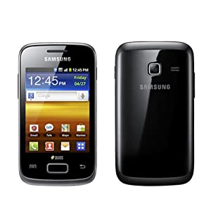 Samsung Galaxy Y Duos S6102 Black WiFi Android Dual SIM 3G Cell Phone